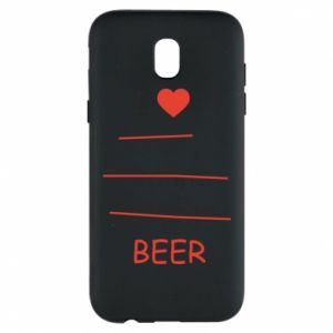 Etui na Samsung J5 2017 I love only beer - PrintSalon