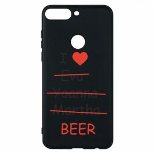 Etui na Huawei Y7 Prime 2018 I love only beer