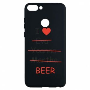 Etui na Huawei P Smart I love only beer - PrintSalon