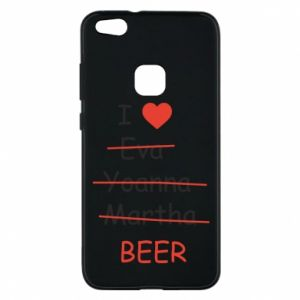 Huawei P10 Lite Case I love only beer