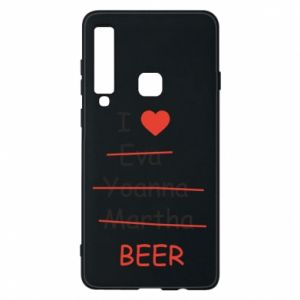 Etui na Samsung A9 2018 I love only beer - PrintSalon