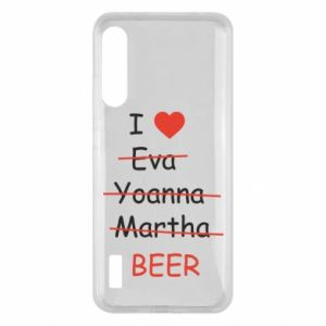 Xiaomi Mi A3 Case I love only beer