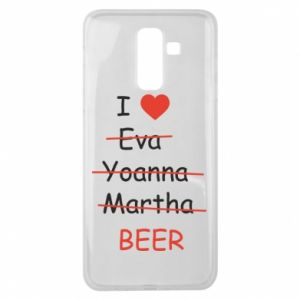 Samsung J8 2018 Case I love only beer
