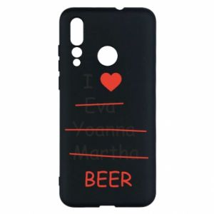 Huawei Nova 4 Case I love only beer