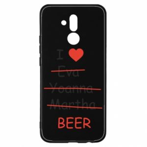 Huawei Mate 20Lite Case I love only beer