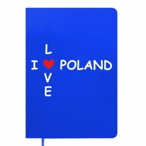 Notepad I love Poland crossword