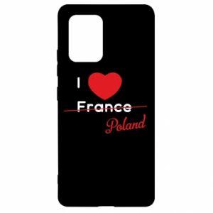 Etui na Samsung S10 Lite I love Poland, z sercem