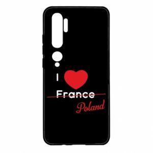 Etui na Xiaomi Mi Note 10 I love Poland, z sercem