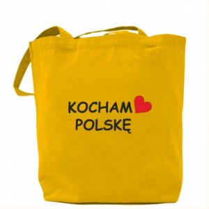 Bag I love Poland - PrintSalon