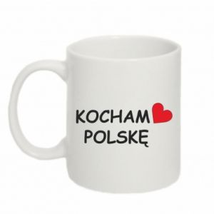 Mug 330ml I love Poland - PrintSalon