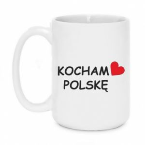 Mug 450ml I love Poland - PrintSalon