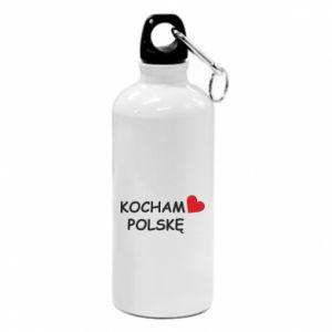 Water bottle I love Poland