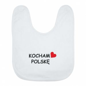 Bib I love Poland - PrintSalon