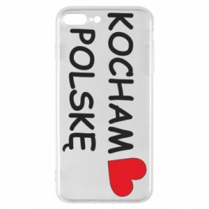 Phone case for iPhone 7 Plus I love Poland - PrintSalon