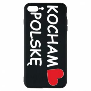 Phone case for iPhone 8 Plus I love Poland - PrintSalon