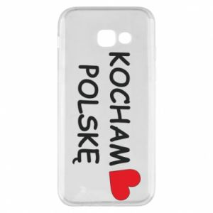 Phone case for Samsung A5 2017 I love Poland - PrintSalon