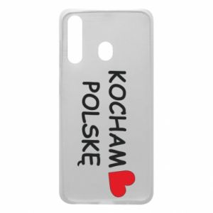 Phone case for Samsung A60 I love Poland - PrintSalon