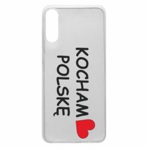 Phone case for Samsung A70 I love Poland - PrintSalon