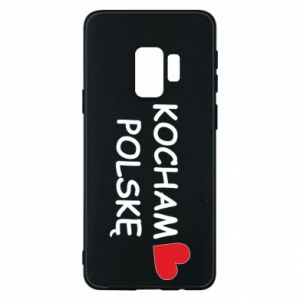 Phone case for Samsung S9 I love Poland - PrintSalon