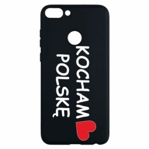 Phone case for Huawei P Smart I love Poland - PrintSalon