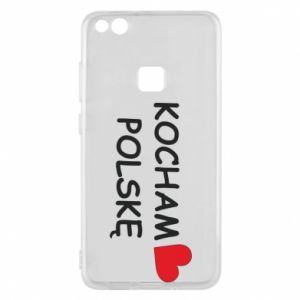 Phone case for Huawei P10 Lite I love Poland - PrintSalon
