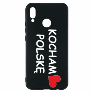 Phone case for Huawei P20 Lite I love Poland - PrintSalon