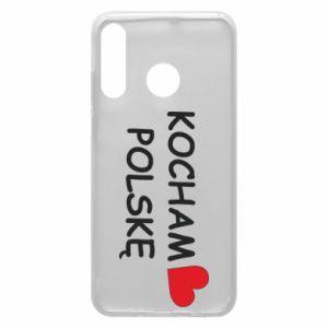 Huawei P30 Lite Case I love Poland