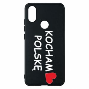 Phone case for Xiaomi Mi A2 I love Poland - PrintSalon