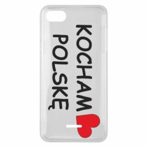 Phone case for Xiaomi Redmi 6A I love Poland - PrintSalon