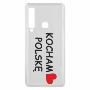 Phone case for Samsung A9 2018 I love Poland - PrintSalon