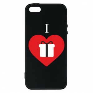 Phone case for iPhone 5/5S/SE I love presents