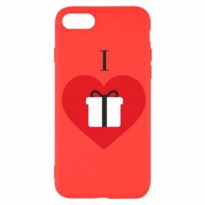 Etui na iPhone SE 2020 I love presents