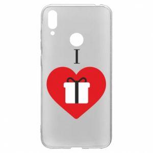 Huawei Y7 2019 Case I love presents