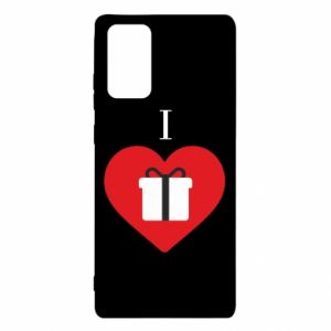Samsung Note 20 Case I love presents