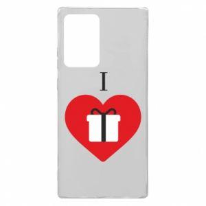 Etui na Samsung Note 20 Ultra I love presents