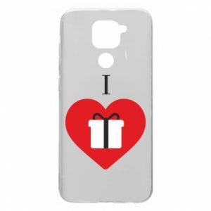 Xiaomi Redmi Note 9 / Redmi 10X case % print% I love presents