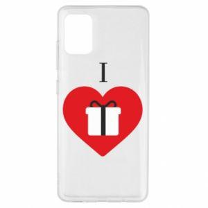 Etui na Samsung A51 I love presents