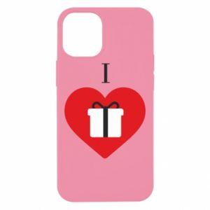 Etui na iPhone 12 Mini I love presents