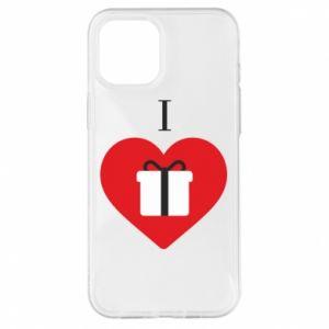 Etui na iPhone 12 Pro Max I love presents