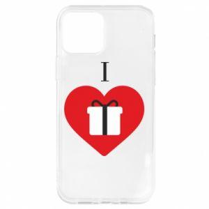 Etui na iPhone 12/12 Pro I love presents