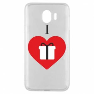 Phone case for Samsung J4 I love presents