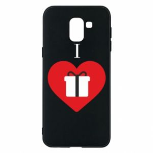 Phone case for Samsung J6 I love presents