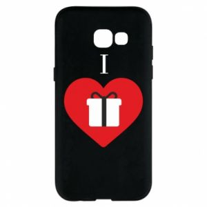 Phone case for Samsung A5 2017 I love presents