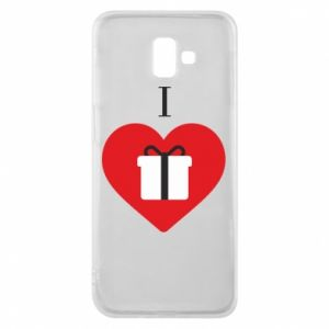 Phone case for Samsung J6 Plus 2018 I love presents