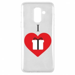 Phone case for Samsung A6+ 2018 I love presents