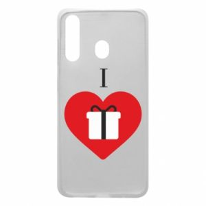 Phone case for Samsung A60 I love presents