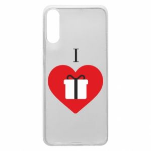 Phone case for Samsung A70 I love presents