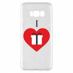 Phone case for Samsung S8 I love presents