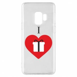 Phone case for Samsung S9 I love presents