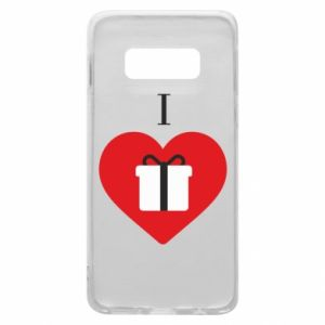 Phone case for Samsung S10e I love presents